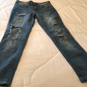 Aeropostale Jeans - Aeropostale girlfriend distressed jeans